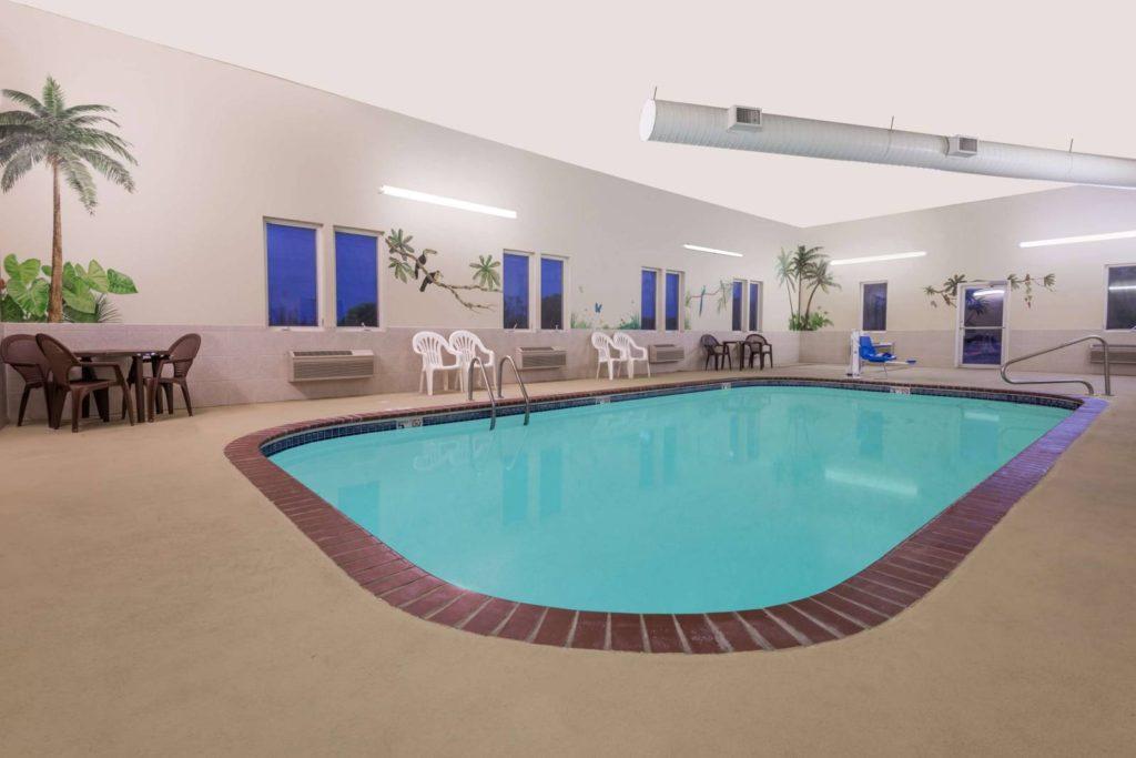 Indoor Swiming Pool at Super 8 Ottawa Ks - Best hotel in Ottawa ks